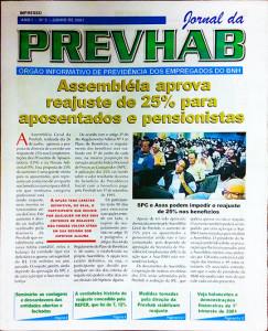 Jornal para o fundo de pensão Prevhab